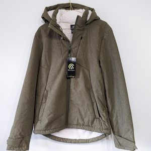 NWT C9 Champion Men's Sherpa Lined Green Jacket